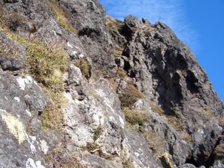 西峰へのルートCIMG0144