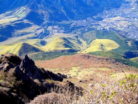 西峰への途中からCIMG0179