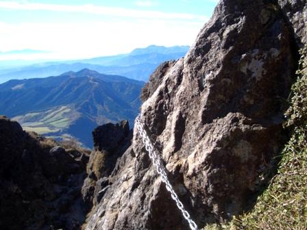 西峰への難所CIMG0145