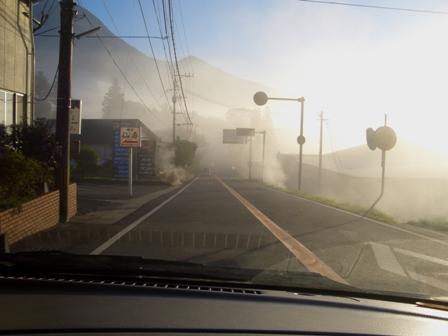 湯布院は霧の中CIMG0079
