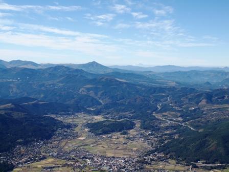 西峰から湯布院PB041973