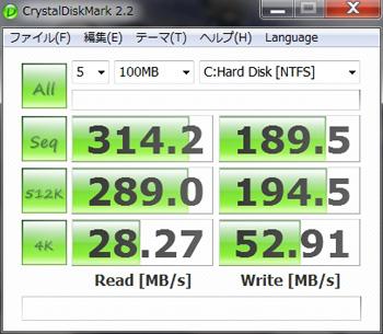 日立製SATA3.0対応HDD
