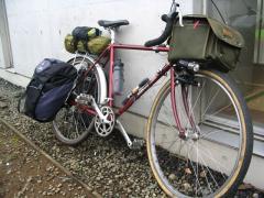 使用した自転車