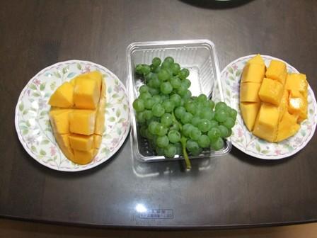 2010.8.7,8 喜界島のマンゴー