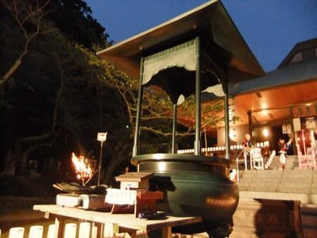 2010.8.16 長楽寺の夜 (8)