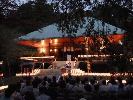 2010.8.16 長楽寺の夜 (1)