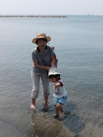 2010.8.18 唯花と館山に海水浴へ 004