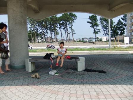 2010.8.18 唯花と館山に海水浴へ 008