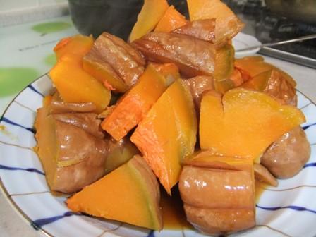 2010.11.5かぼちゃ煮