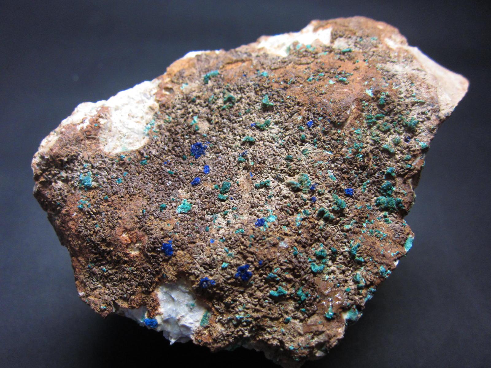 Azurite藍銅鉱