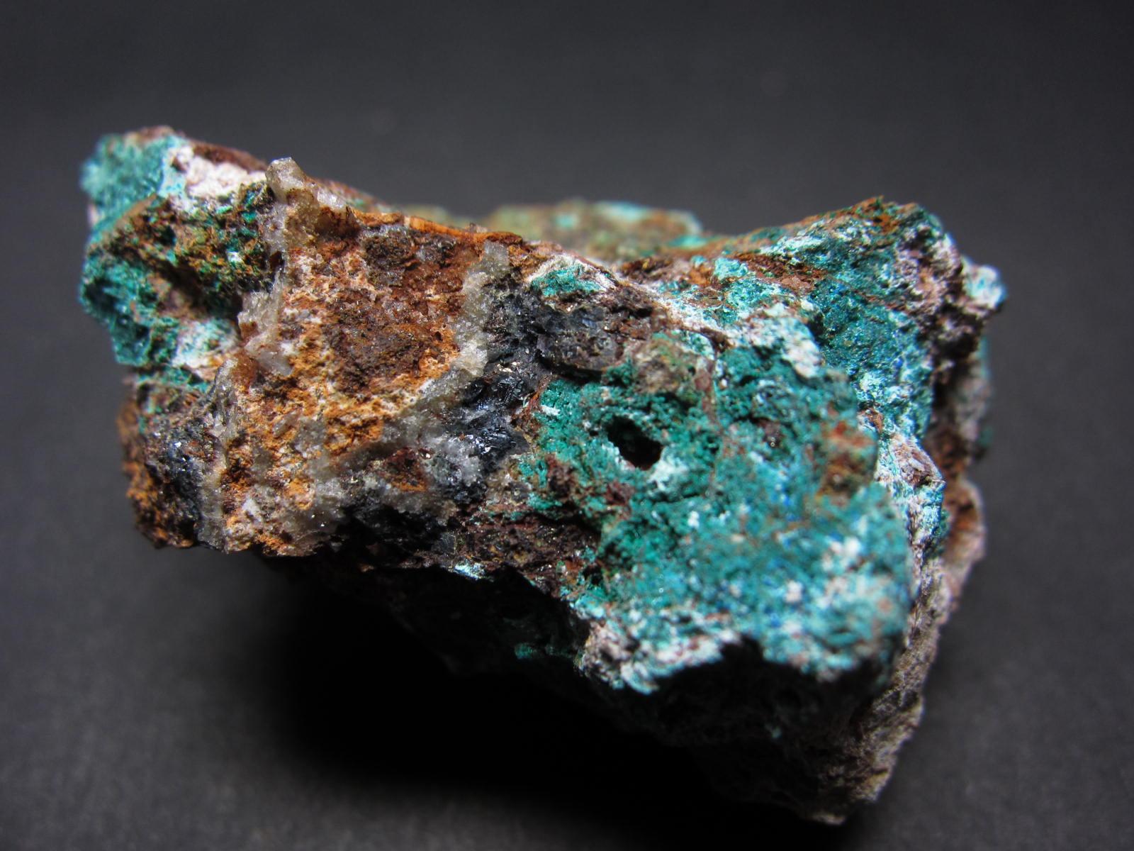 Brochantiteブロシャン銅鉱