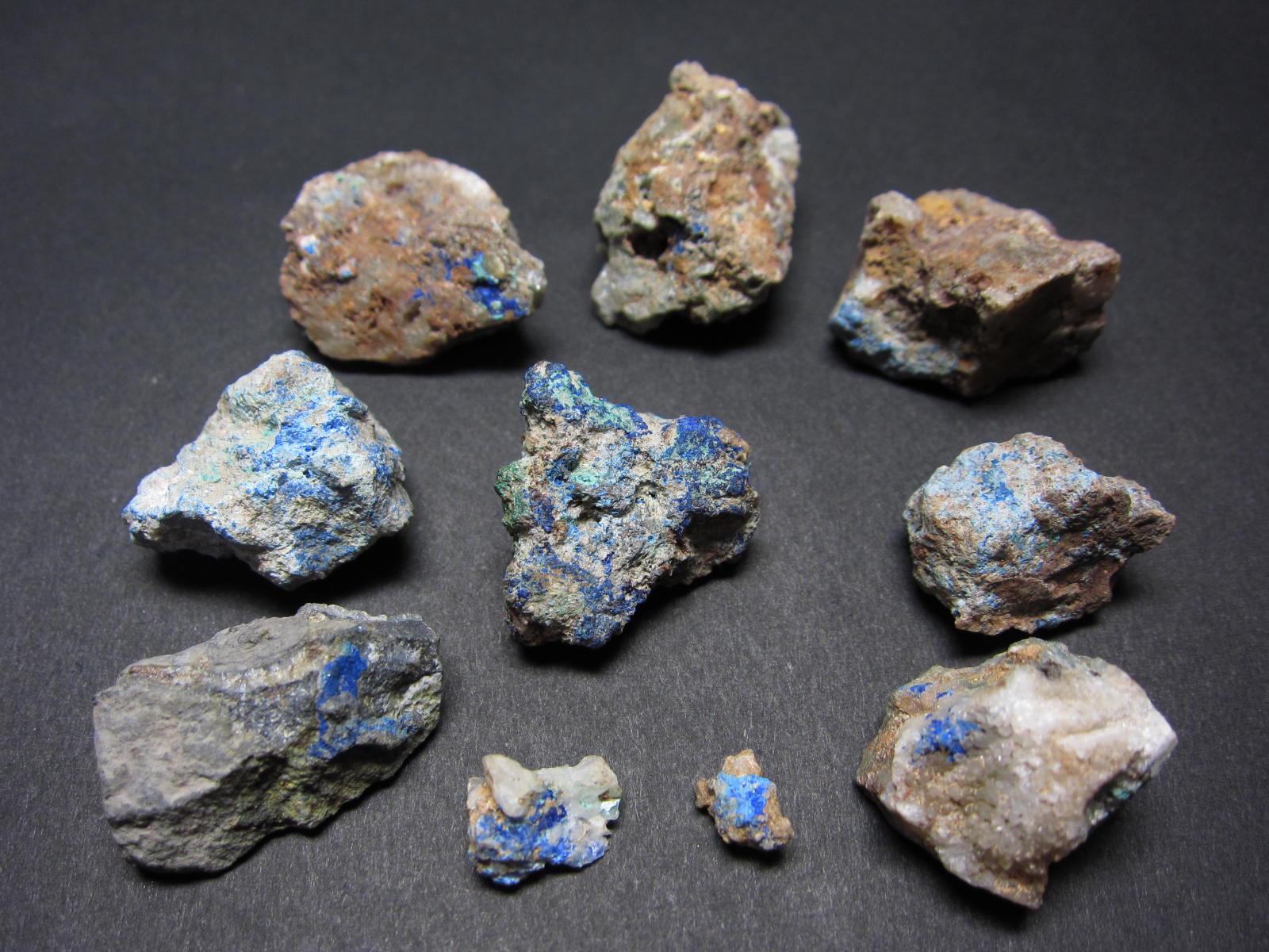 Azurite藍銅鉱3