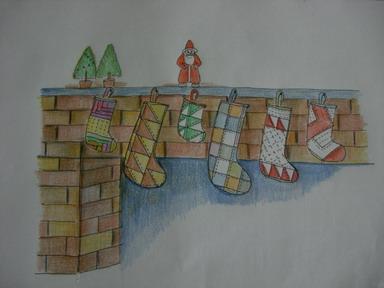 絵遊び(クリスマス)