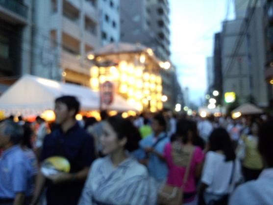 祇園祭の宵1