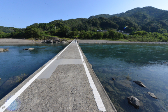 長生の沈下橋
