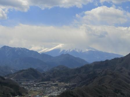 郡内ツアー 富士山遠望