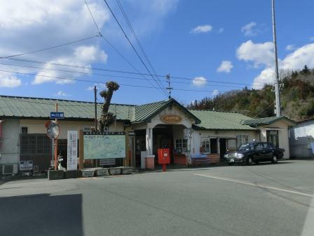 郡内ツアー 谷村町駅