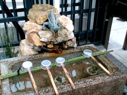 六波羅蜜寺手水舎