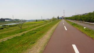 多摩川、走りやすい02