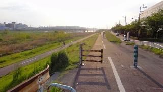 多摩川(関戸橋)帰り
