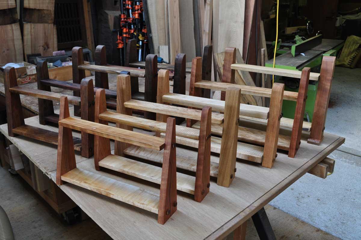 素材を生かす じざい工房 の創作家具
