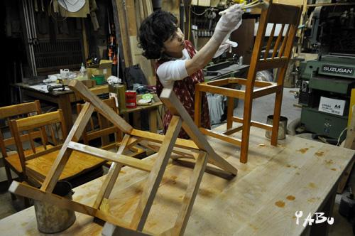 小林康文の素材を生かす家具作り