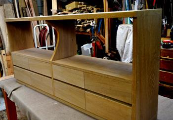jざい工房 小林康文の素材を生かす家具作り