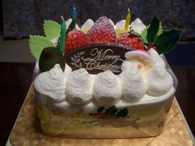 ラストクリスマスケーキ