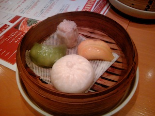 上海麺店 飲茶セット 2