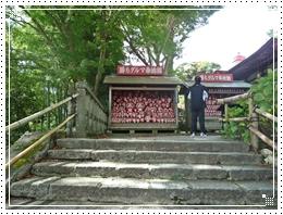 20110918勝尾寺奉納だるま