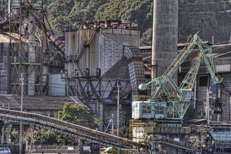 高知の太平洋セメント工場