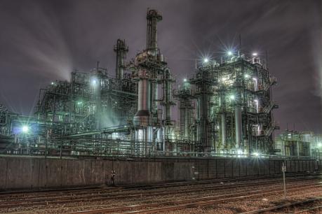 京浜工業地帯の定番夜景撮影スポット