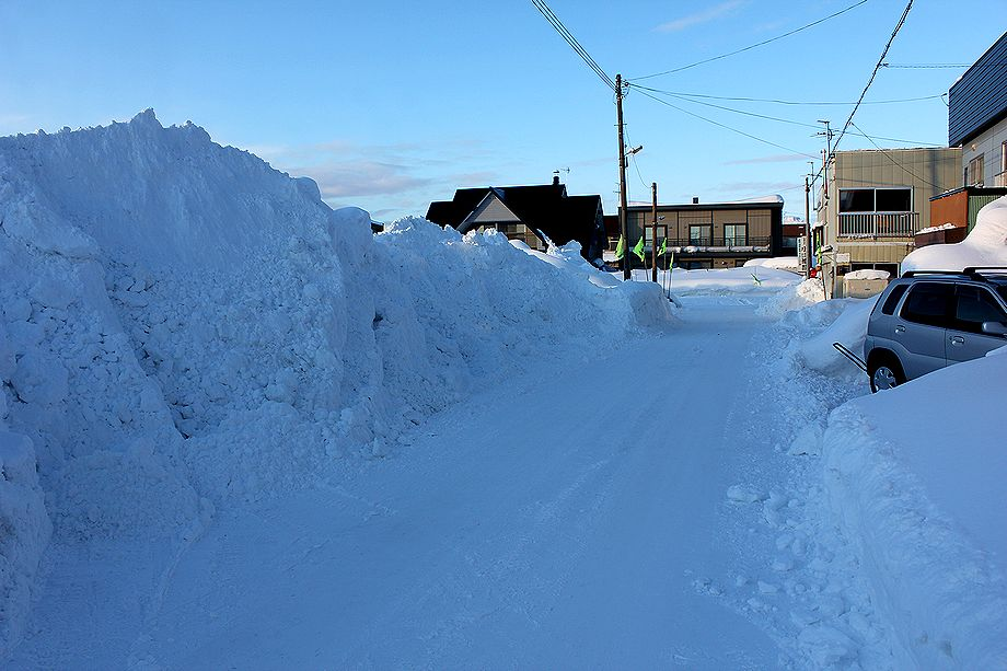 2月18日の積雪