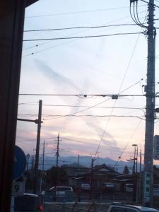地震雲甲府