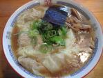 焼豚雲呑麺