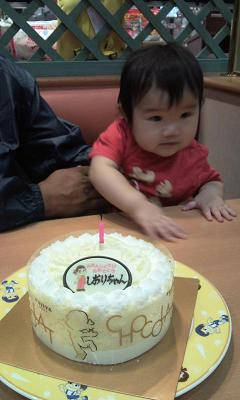 汐里とケーキ