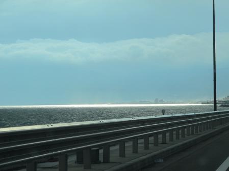 2011年10月15日西湘バイパス 光る海