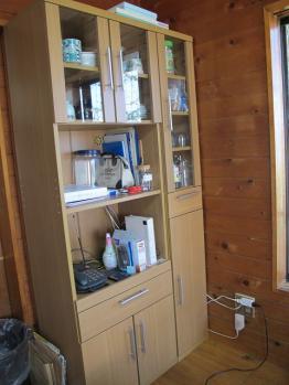 アフターな食器棚