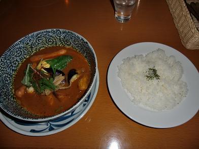 スープカレーソーセージ
