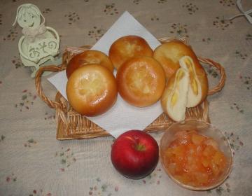 りんごのパン2