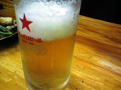 生ビール 114