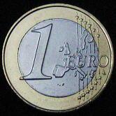1ユーロコインの裏