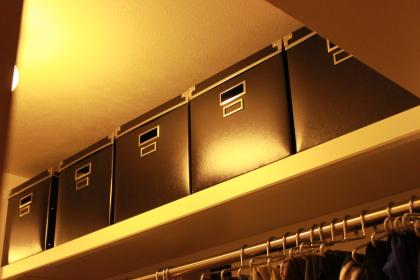 IKEA ボックス 黒