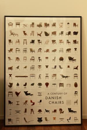 北欧 ポスター 椅子