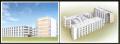 国際医療研究センター国府台病院 肝炎免疫研究センター・病棟・研究棟完成予想図