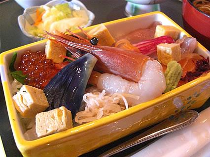 炭火台所 おはし おはしの玉手箱 ちらし寿司
