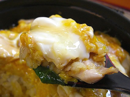 村の駅トプカイ レストラン 鳥夢セット ミニ比内地鶏親子丼 アップ