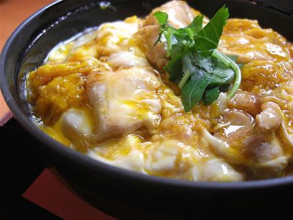 村の駅トプカイ レストラン 鳥夢セット ミニ比内地鶏親子丼