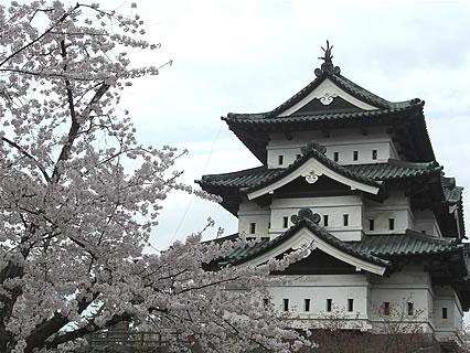 弘前公園 さくらまつり 弘前城