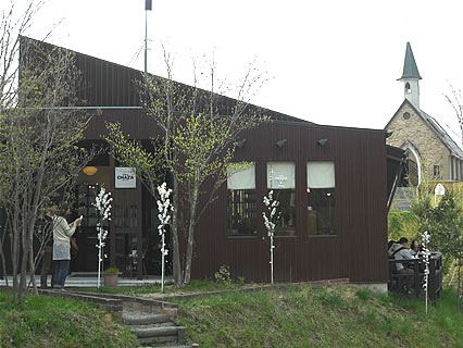 アンナガーデン cafe CHAZA 外観